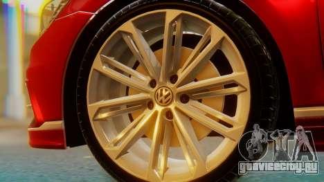Volkswagen Passat Variant R-Line для GTA San Andreas вид сзади слева
