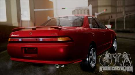 Toyota Mark II X90 для GTA San Andreas вид слева