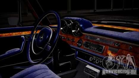 Mercedes-Benz 300 SEL 6.3 для GTA San Andreas вид справа