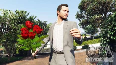 Букет из роз для GTA 5 второй скриншот
