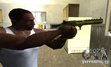 Sponge Bob Deagle для GTA San Andreas второй скриншот