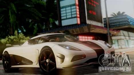 NFS Rivals Koenigsegg Agera R Racer для GTA San Andreas