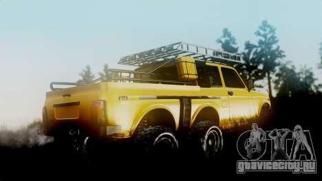ВАЗ 2121 Нива 6х6 для GTA San Andreas вид слева