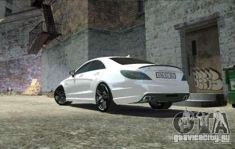Mercedes-Benz CLS 63 AMG для GTA 4 вид слева