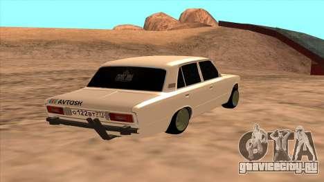 ВАЗ 2106 Аштантум для GTA San Andreas вид слева