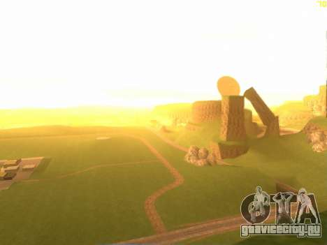 Зелёная пустыня Лас Вентурас v2.0 для GTA San Andreas второй скриншот