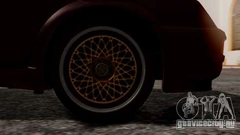 Ford Sierra RS500A для GTA San Andreas вид сзади слева