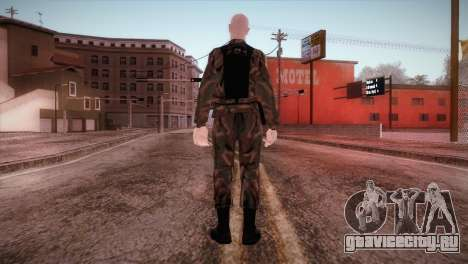 Shaved Soldier для GTA San Andreas третий скриншот