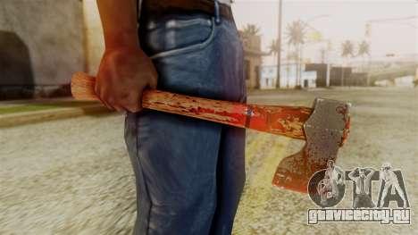 GTA 5 Hatchet v2 для GTA San Andreas третий скриншот