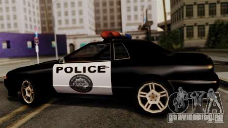 Police Elegy для GTA San Andreas вид сзади слева