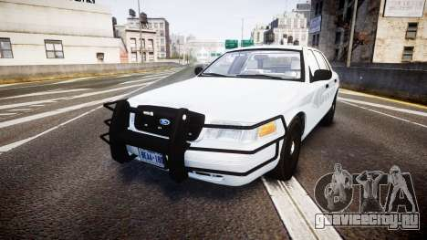 Ford Crown Victoria Bohan Police [ELS] unmarked для GTA 4