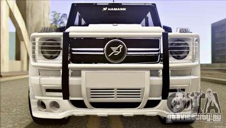 Mercedes-Benz G65 Hamann 2013 для GTA San Andreas вид слева