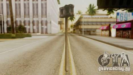 Bogeyman Hammer from Silent Hill Downpour v2 для GTA San Andreas