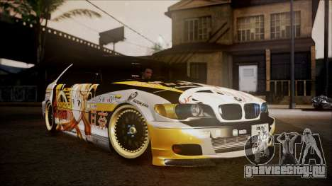 BMW 325t E46 LCI SAO Itasha для GTA San Andreas
