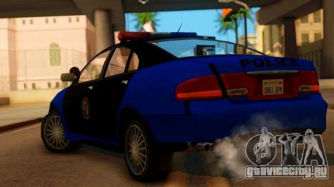 Police HSV VT GTS SA Style для GTA San Andreas вид слева