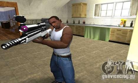 Bitten Sniper Rifle для GTA San Andreas второй скриншот