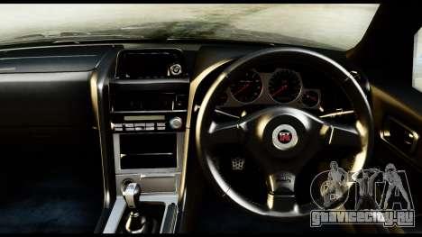 Nissan Skyline GT-R (BNR34) Tuned для GTA San Andreas вид справа