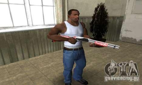 Stone Shotgun для GTA San Andreas третий скриншот