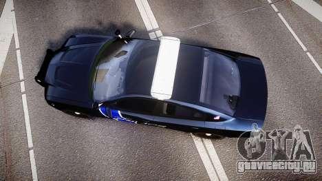 Dodge Charger 2014 LCPD [ELS] для GTA 4 вид справа