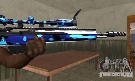 Water Sniper Rifle для GTA San Andreas второй скриншот