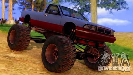 Premier Monster для GTA San Andreas вид справа