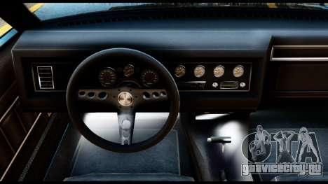 GTA 5 Vapid Chino Stock для GTA San Andreas вид сзади слева