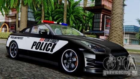 NFS Rivals Nissan GT-R R35 для GTA San Andreas