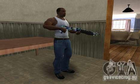 Limeyond Combat Shotgun для GTA San Andreas третий скриншот