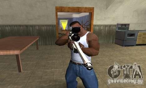 Gold Dragon Sniper Rifle для GTA San Andreas второй скриншот