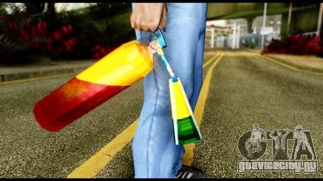 Brasileiro Fire Extinguisher для GTA San Andreas третий скриншот