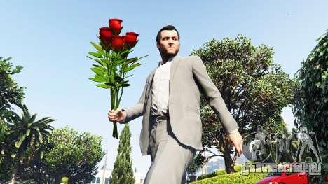 Букет из роз для GTA 5