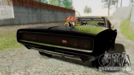 Dodge Charger RT 1970 Fast & Furious для GTA San Andreas