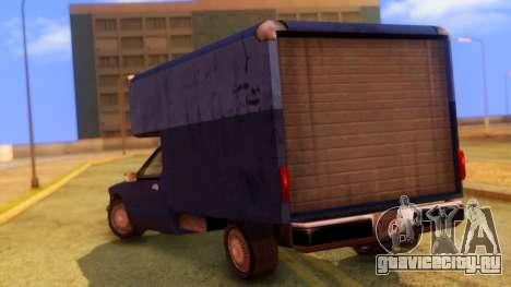Premier Truck для GTA San Andreas вид слева