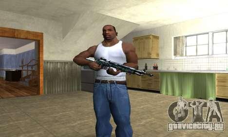 Green Forest Rifle для GTA San Andreas третий скриншот