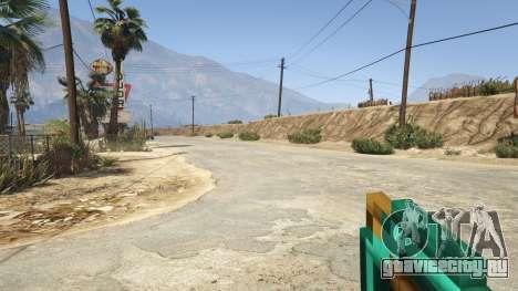 Diamond Pickaxe V v1.0 для GTA 5 четвертый скриншот