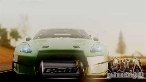 Nissan GT-R R35 Bensopra 2013 для GTA San Andreas