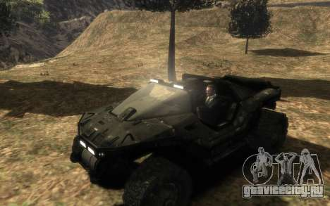 ККОН M12 Вепрь из Halo Reach для GTA 4 вид сзади слева