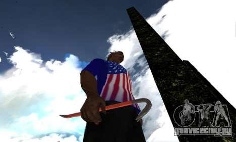 Crowbar from GTA 5 для GTA San Andreas второй скриншот