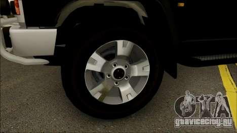Nissan Patrol Y60 для GTA San Andreas вид сзади