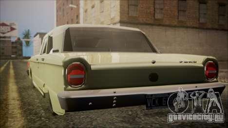 Ford Falcon 3.0 для GTA San Andreas вид слева