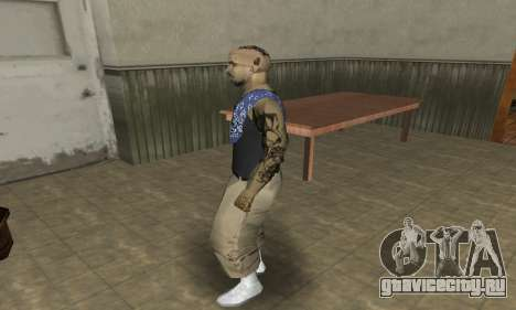 Rifa Skin Third для GTA San Andreas четвёртый скриншот