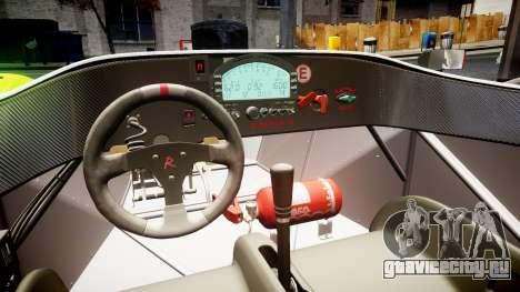 Radical SR8 RX 2011 [23] для GTA 4 вид изнутри