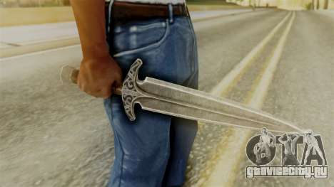 Steel Dagger для GTA San Andreas второй скриншот