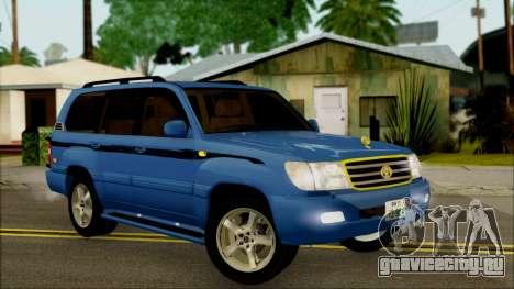 Toyota Land Cruiser 100 UAE Edition для GTA San Andreas