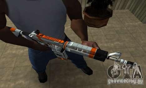 M4 Asiimov для GTA San Andreas второй скриншот