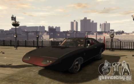 Dukes Impulse Daytona Tuning для GTA 4 вид слева