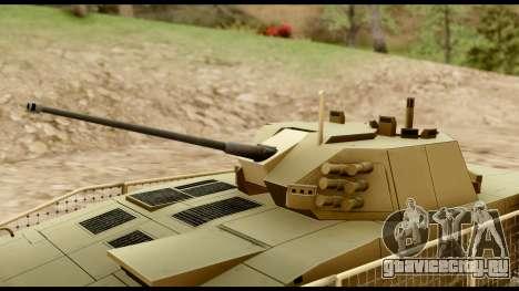 KTO Rosomak M1M Desert для GTA San Andreas вид справа