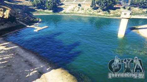 Вода в разрешении 2K v1.5 для GTA 5 третий скриншот