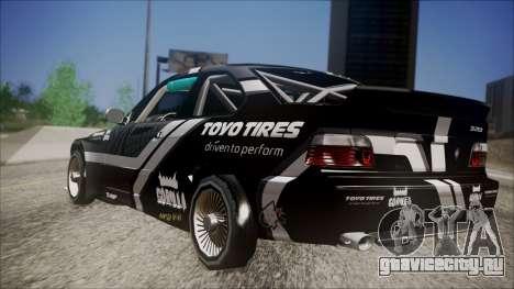 BMW M3 E36 GT-Shop для GTA San Andreas вид слева