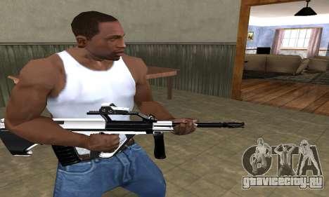 Chrome AUG для GTA San Andreas второй скриншот